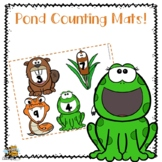 Pond Counting Mats for Preschool\Pre-K