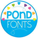 Big Bundle of Fonts {Pond Fonts}