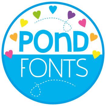 Big Bundle of Fonts {Pond Fonts}