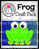Frog Craft for Kindergarten (Rainforest, Animal Research, Pond)