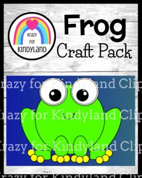 Rainforest / Pond: Frog Craft