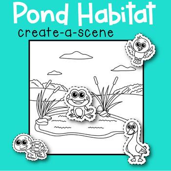 Pond Habitat Create-a-Scene