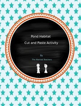 Pond Habitat Cut and Paste Activity