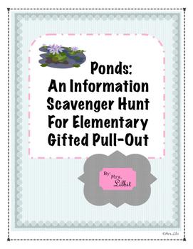 Pond Information Scavenger Hunt