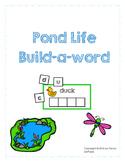 Pond Life Build-a-Word
