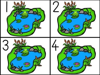 Pond Life Counting and Addition Mats