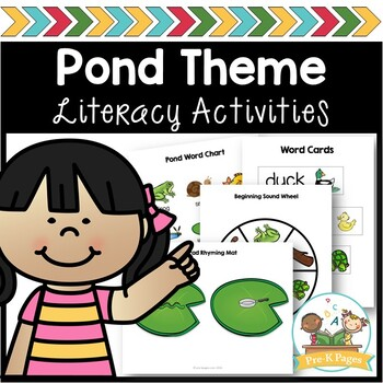 Pond Life Literacy Activities