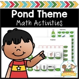 Pond Life Math Center Activities