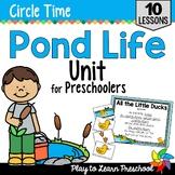 Pond Life Preschool Unit