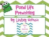 Pond Life Prewriting