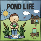 Pond Life - Science, Math, and Literacy