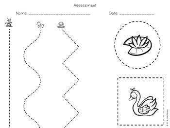 Pond Life Scissor Practice