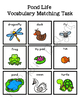 Pond Life Vocabulary Folder Game for Early Childhood Speci