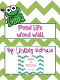 Pond Life Word Wall