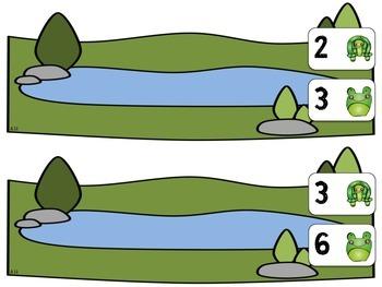 Pond Math Mats