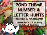 Pond Number and Letter Hunt