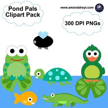 Pond Pals Clipart