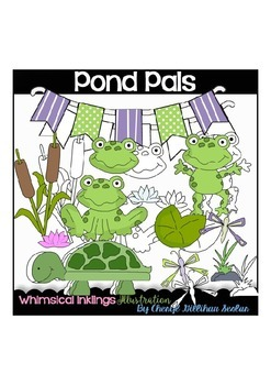 Pond Pals Clipart Collection