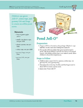 Pond Plants: Art and Cooking Activities
