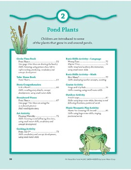 Pond Plants: Language and Math Activities