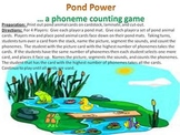 Pond Power - a phoneme counting game