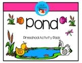 Preschool Activity Unit - Pond