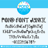 Font - Pond Font Junkie