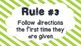 Frog Theme Class Rules