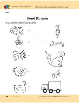 Pond Seasons: Language and Math Activities