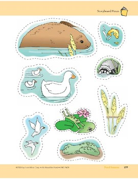 Pond Seasons: Storyboard Pieces