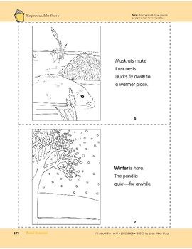 Pond Seasons: Take-Home Book