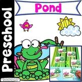 Pond Theme Preschool Centers and Printables