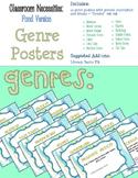 Pond Themed ELA Essentials Poster Set + SPECIAL BONUSES!