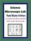 Pond Water Critter Scavenger Hunt {Hands-on Lab}