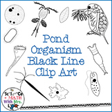 Pond Water Organism Clipart Set: Amoeba, Paramecium, and More!