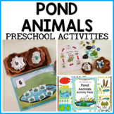 Pond and Frog Preschool Activities and Centers