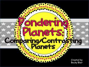 Pondering Planets