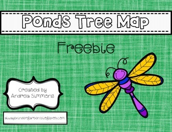 Ponds Tree Map Freebie