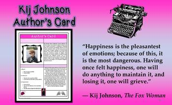 Ponies by Kij Johnson Short Story Study Common Core