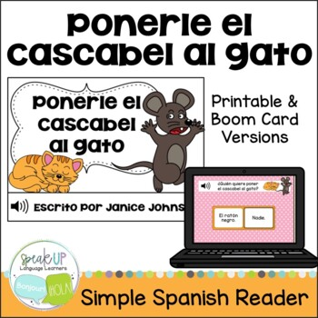 Ponerle cascabel al gato ~Spanish Belling the Cat Fable Reader ~Simplified