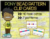Pony Bead Pattern Clip Cards