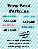 Pony Bead Patterning