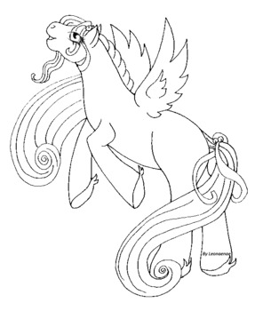 Pony Coloring Book Pages -Free
