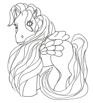 Pony Coloring Package