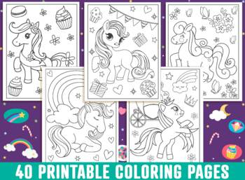 Pony Coloring Pages 40 Printable My Little Pony Coloring Pages For Kids Girls