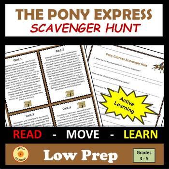 Pony Express Scavenger Hunt