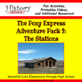 Pony Express: The Stations - Printable and Digital Activities