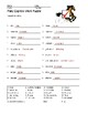 Pony Express Word Search and Vocabulary Puzzle Worksheets