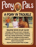 Pony Pals - A Pony in Trouble ELA Novel Reading Study Guide and Teaching Unit
