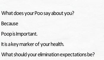 Poo Poo: It's Important
